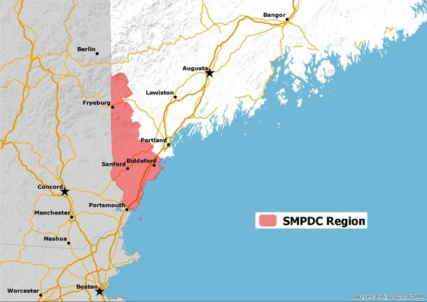 SMPDC Regional Location